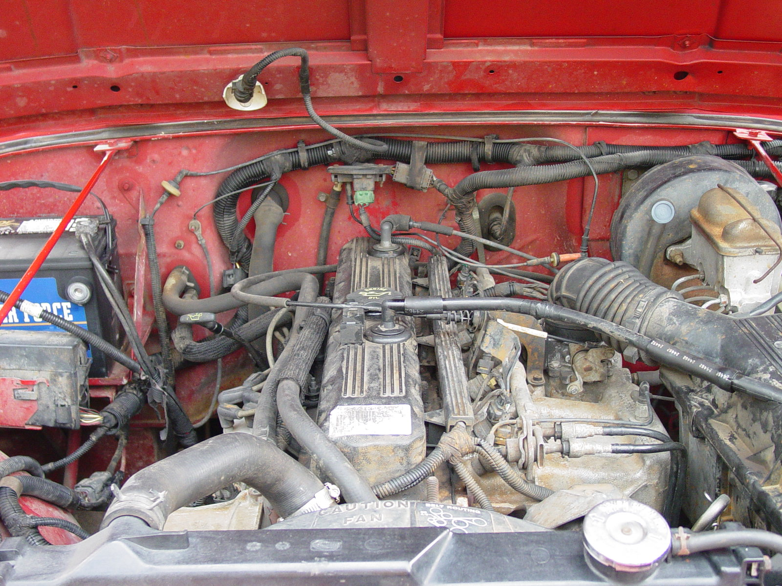 1994 Jeep Wrangler Engine Compartment 1994 Engine